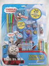 Thomas & Friends - Stamp & Colour Set with 20 Page Pad plus lots more!