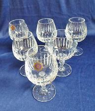 6 WMF Cognac Schwenker Gläser schweres Kristall Glas signiert geschliffen