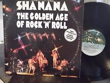 SHANANA LIVE GOLDEN AGE OF R&R DOUBLE LP ON KAMA SUTRA RECORDS NO POSTER
