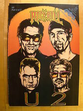 Rock N Roll U2 No 55 Part 2 1993 Unauthorized Comic Book Revolutionary