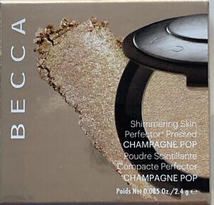 Becca Shimmering Skin Perfector Pressed Highlighter Mini - Champagne Pop 0.085oz
