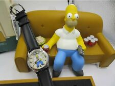 The Simpsons Limited Edition Fossil Watch (with Homer On Couch Ceramic)