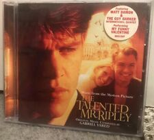 Cd Music Ost The Talented Mr Ripley Various Matt Damon