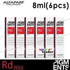 6pcs ALFAPARF Milano PIGMENTS Ultra Concentrated Pure Pigment Color 8ml / 0.27oz