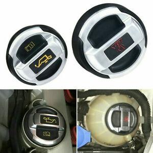 2X Oil Filler Cap Retrofit Oil Expansion Tank Cap Lid Fit For Audi R8 420103485B