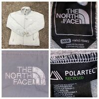 The North Face Women's Gray Polartec Full Zip Denali Fleece Jacket Size Medium