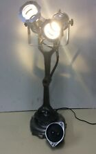 ULTMATE MAN CAVE DESK LAMP built with BMW engine parts and LED lamps