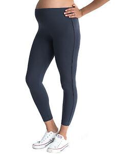 Women's Grey Maternity Leggings, Excellent Quality,  Pregnancy Size 12