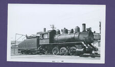 Davenport Rock Island DRI  0-6-0 Steam Locomotive #59 Vintage B&W Railroad Photo