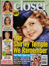 Closer Magazine July 2015 Shirley Temple - Celine Dion - Letterman No Label - EX