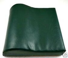 Deluxe Hunter Green Contour Vinyl Tanning Bed Pillow