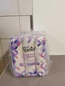 Presto 4-lagiges Toilettenpapier 48 Rollen 12 x 4 x 160 Blätter