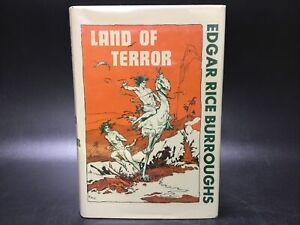 SIGNED Land of Terror Edgar Rice Burroughs [Canaveral Press 1963] HC RARE