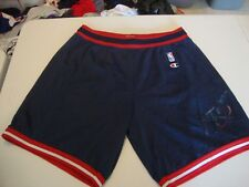 Vintage NBA Houston Rockets Champion Brand Jersey Shorts Sz XL 40-42