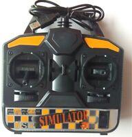 Flysky FS-SM020 USB Flugmodell Simulator für RC Flugzeug Hubschrauber