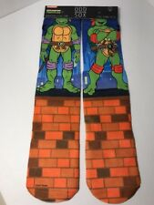 Brand New Odd Sox Crew Socks Teenage Mutant Ninja Turtles TMNT Mens Size 6-13