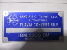 Lancia Nameplate Flavia Convertible B-Ware