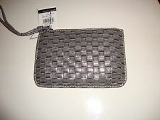 Wilson Leather Wristlet w/Cashwrap Pink Navy Green Purple Brown Black Coin Purse