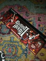 pS2 Guitar Hero Model PSLGH RedOctane Wired Controller w/Box tested working