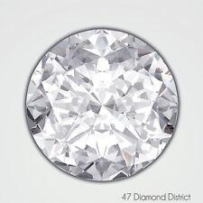 1.88ct. H-SI1 Ex Cut Round Brilliant AGI Certified Diamond 8.02x8.06x4.77mm