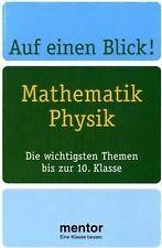 Auf einen Blick! Mathematik, Physik. Die wichtigsten The... | Buch | Zustand gut