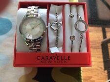 Caravelle NY By Bulova 4 Piece Watch, Bracelet Set