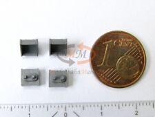 Ersatz-Tritt silbergrau 4 x z.B. für MÄRKLIN Elektrolok BR 152 Spur H0 1:87 NEU