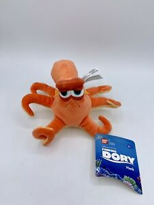 "Finding Dory 6"" Mini Plush Hank Stuffed Animal Fish (New With Tags)"