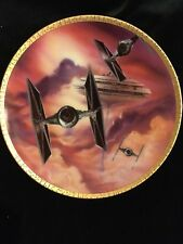 """Star Wars """"Tie Fighters"""" Collector'S Plate"""