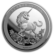 25th Anniversary of Unicorn - Einhorn Restrike China 1 oz Silber PU 2019