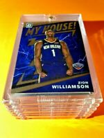 Zion Williamson PANINI DONRUSS OPTIC HOT ROOKIE 2019-20 MY HOUSE! RC #15 - Mint!