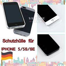 Schutzhüll Für iPhone 5 5S SE TPU Transparent Silikon Schutz Hülle Bumper Case