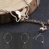 Butterfly Souble Diamond Anklet Chain Anklet Bracelet Anklets Alloy Foot Jewelry