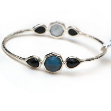 New IPPOLITA Midnight Wonderland Bangle Bracelet in Dusk-Black Blue NWT