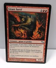 carte magic the gathering - geant furtif - vf sombrelande unco