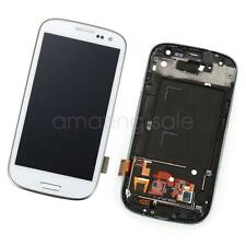 For Samsung Galaxy S3 i9300 LCD Display Touch Screen Glass Lens Digitizer &Frame