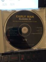Closing In by Early Man (Advance CD, Matador Records) FREE SHIPPING!