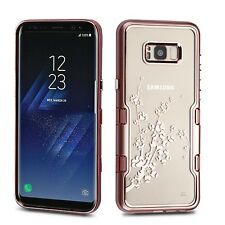 Samsung GALAXY S8 /Plus Transparent Clear TUFF Hybrid Protector Case Slim Cover