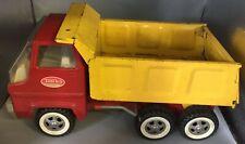 Tonka Truck Vintage Metal Dumper Tipper Truck 1950 60s Retro Tin Car Toy