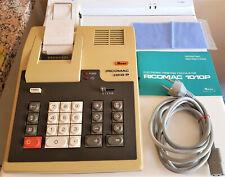 RICOH RICOMAC 1010P Calculatrice Imprimante Couleur Vintage Testée + accessoires