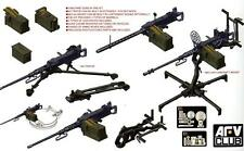 AFV Club Model #AF35246 1/35 M2HB .50 Cal Gun Set with M3 Tripod & M63 AA Mount