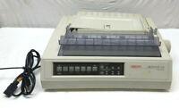 Okidata MICROLINE 520 9-pin Dot Matrix Parallel Printer POWERS ON AS IS GE5258A