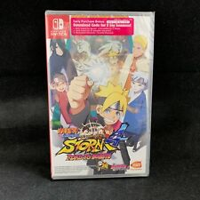 Naruto Shippuden Ultimate Ninja Storm 4 Road to Boruto (Switch) English Cover