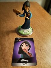 Disney Infinity 3.0 Mulan with web card loose