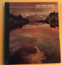 """New listing 1972 Time-Life Book """"The high Sierra"""" The American Wilderness"""