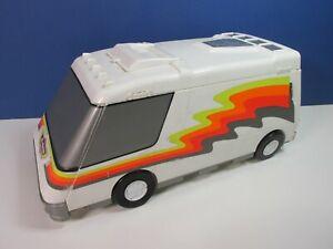 vintage MICRO MACHINES SUPER VAN CITY PLAYSET TOY galoob 1991 set 2909