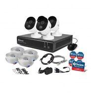 Swann DVR8 4480 8 Channel DVR 32GB SD Card 4x1080p Heat Sensing Cameras CCTV Kit