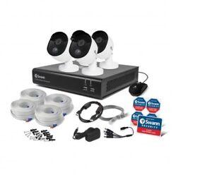 Swann DVR CCTV Kit DVR8 4480 8 Channel 32GB SD Card 4x1080p Heat Sensing Cameras