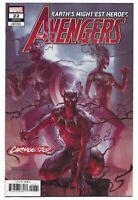 Avengers #22 2019 Unread Junggeun Yoon Carnage-ized Variant Cover Marvel Comics
