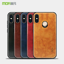 For XiaoMi RedMi Note 5 Pro, Mofi Slim Full Cover Hybird Leather Soft Frame Case